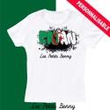 T shirt Algerie personnalisable pour enfant avec prénom