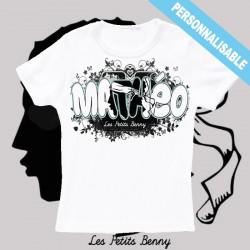 e21920717b718 T shirt Corse personnalisable pour enfant avec prénom