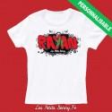 T shirt maroc personnalisable pour enfant avec prénom