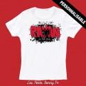 T shirt Albanie personnalisable pour enfant avec prénom