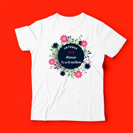 T-shirt je t'aime maman tu es la meilleure