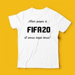 T-shirt Mon papa à Fifa