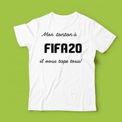 T-shirt Mon tonton à Fifa