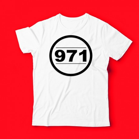 T shirt 971 gwadada guadeloupe pour enfant