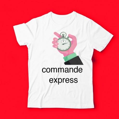 T-shirt Commande Express