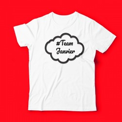 T-shirt team JANVIER