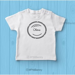 T-shirt enfant chou