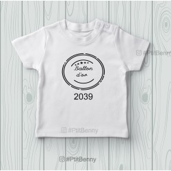 T-shirt enfant ballon d'or 2039