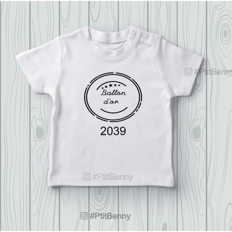 T-shirt enfant ballon d'or 2039