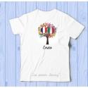 T shirt France Italie