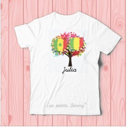 T shirt Mali Senegal